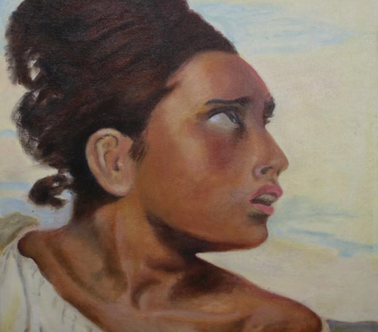 Woman in Awe